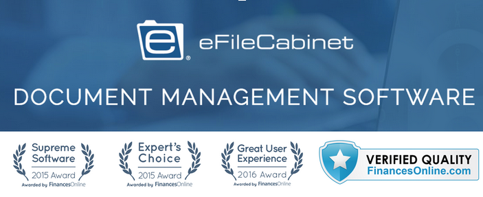 top-rated document management system: eFileCabinet