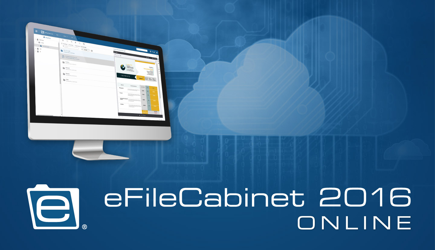 eFileCabinet Releases 2016 Cloud Edition