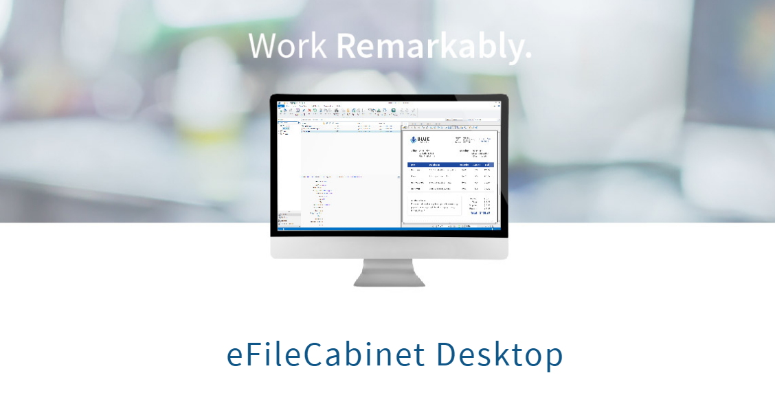 eFileCabinet Desktop On-Premises(s) Document Management System