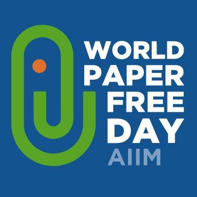 eFileCabinet helps AIIM on World Paper-Free Day