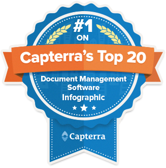 eFileCabinet Maintains #1 on Capterra's Top 20 Most Popular DMS Vendors List