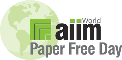 AIIM's World Paper Free Day