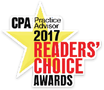 CPA Practice Advisor's Reader's Choice Award for Document Management Software