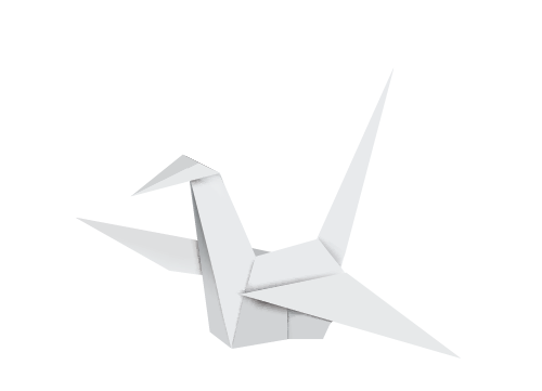 Origami crane - advanced search document management software