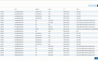 Tips and Tricks: View Audit Logs