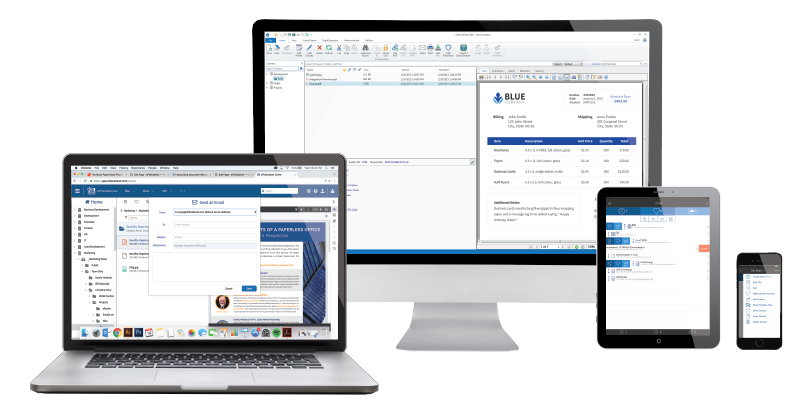 Online document management for all devices